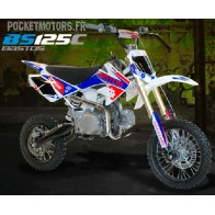 Pit Bike / Dirt Bike BASTOS BS125 C version 2018