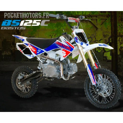 Pit Bike / Dirt Bike BASTOS BS125 C version 2018
