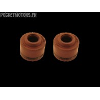 Joints de queues de soupapes Dirt bike Pit bike 150 DAYTONA (la paire)