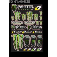 Kit déco Monster Energy