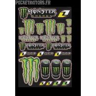 Kitdécoration Monster Energy