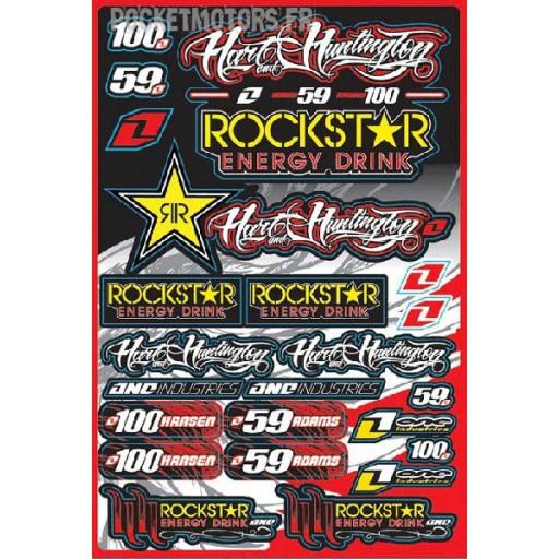 Kitdécoration RockStar