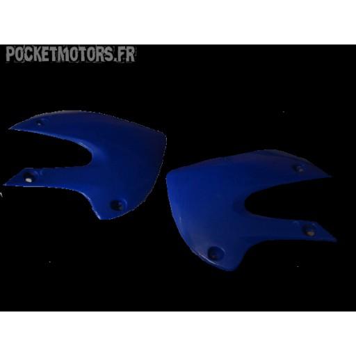 Carénage avant droit et gauche Dirt bike AGB 29 AGB30 PRO2 AMD5 (bleu)