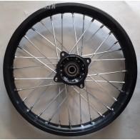 Jante avant acier 17 Pouces Dirt Bike Pit Bike (moyeu racing) axe de 15mm