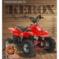 Quad enfant Kerox Puma 110cm3 moteur 4 temps (rouge)