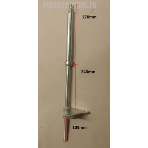 Colonne de direction Pocket quad longueur total 425mm