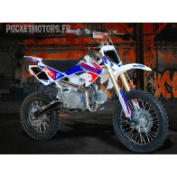 Pit Bike / Dirt Bike BASTOS BS125 C grandes roues
