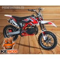 Mini-moto, Pocket Bike cross MICO 49cm3, rouge