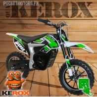 Mini-moto, Pocket Bike Cross électrique, verte