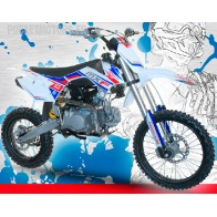 Pit Bike / Dirt Bike BASTOS 140 MXF grandes roues 14/17