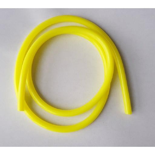 Durite d'essence 5mm jaune, 1m