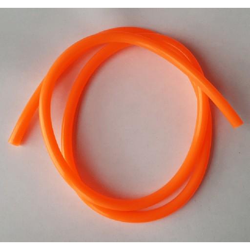 Durite d'essence 5mm orange, 1m