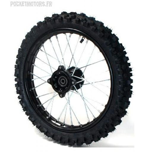 Roue avant 17 pouces moyeu Racing axe de roue 15mm Dirt bike Pit bike