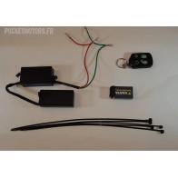 Télécommande pour pocket bike thermique (quad, piste, cross)