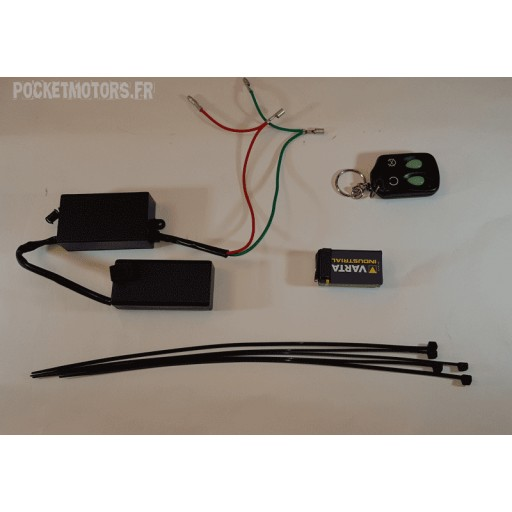 kit télécommande pocket bike