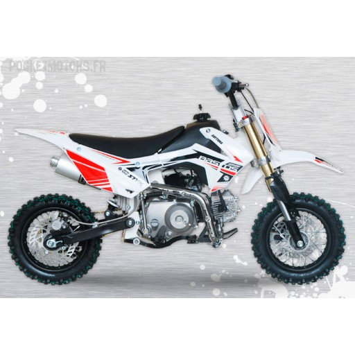 Mini Pit bike BS 90 semi automatique 2018