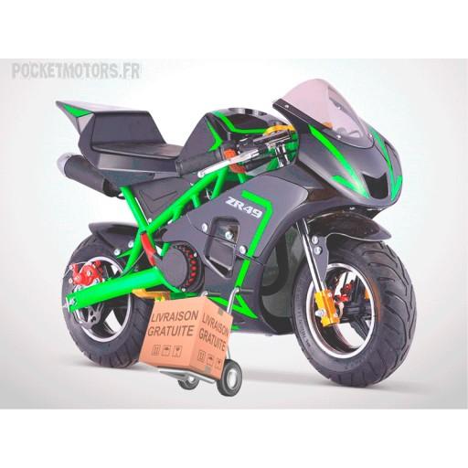 pocket bike livrée gratuitement