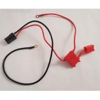 Cable de batterie avec porte fusible