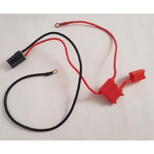 Cabledebatterie avec porte fusible