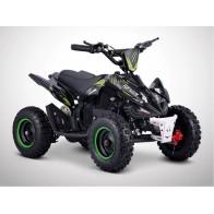 Mini quad Électrique FLIP 800 watt (noir et vert)