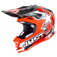 Casque JUST1 (taille 53-54) rouge