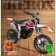 Mini-moto, Pocket Bike Cross électrique, verte ou rouge