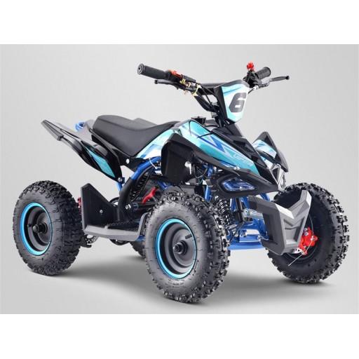 """Pocket quad 6"""" bleu"""