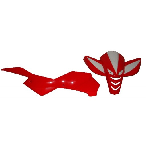 Carénage Pocket Quad RAPTOR complet (rouge) type 1
