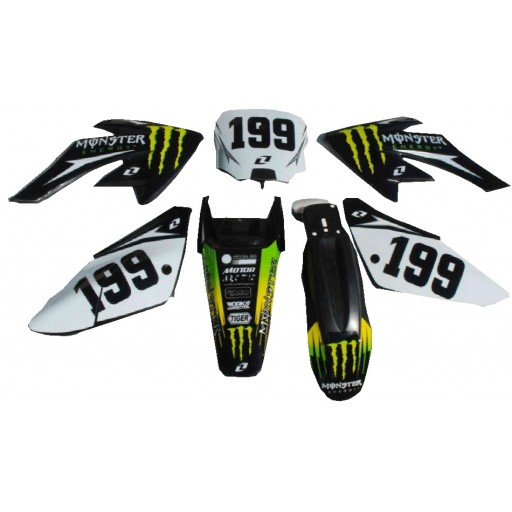 Kit décoration CRF70 Monster Energy