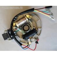 Allumage stator pour moteur Dirt bike Pit Bike avec 2 bobines de 50 à 138cm3