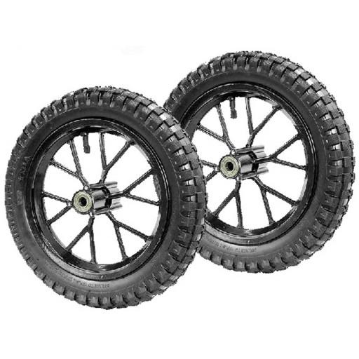 Roues de Pocket cross type 1 pour pneu 12 1/2x2.75 (la paire)