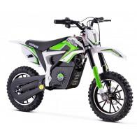 Mini-moto, Pocket Bike Cross électrique, verte ou rouge 2021