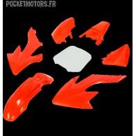 Kit plastique type CRF50 Rouge