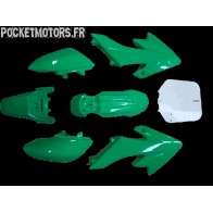 Kit plastique type CRF50 Vert