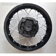 Jante arrière acier 10 pouces Dirt bike Pit bike (moyeu racing) axe 15mm