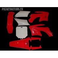 Kit plastique rouge pour AGB27 SOHOO